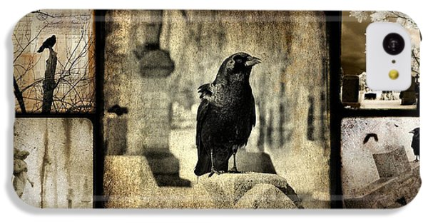 Gothic And Crows IPhone 5c Case