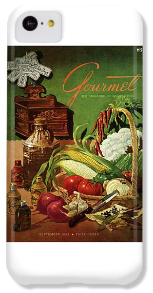 Gourmet Cover Featuring A Variety Of Vegetables IPhone 5c Case