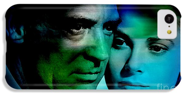 Grace Kelly And Cary Grant IPhone 5c Case by Marvin Blaine