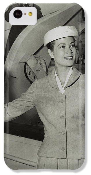 Grace Kelly In 1956 IPhone 5c Case by Mountain Dreams