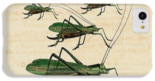 Grasshopper Parade IPhone 5c Case