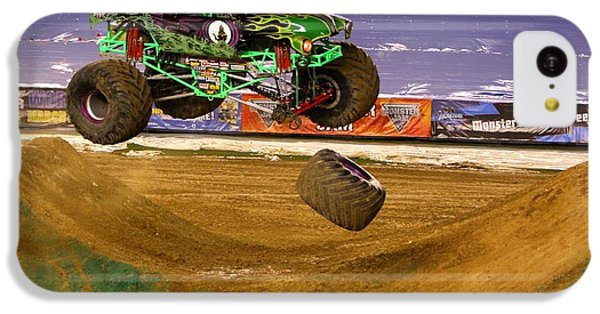 IPhone 5c Case featuring the photograph Grave Digger Loses A Wheel by Nathan Rupert