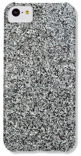 Gray Granite IPhone 5c Case by Alexander Senin