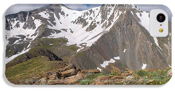 Grays And Torreys Peak IPhone 5c Case by Aaron Spong