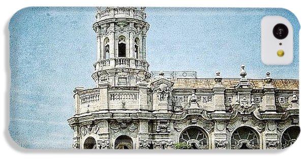 Iger iPhone 5c Case - great Theatre Of Havana (1838 - by Joel Lopez