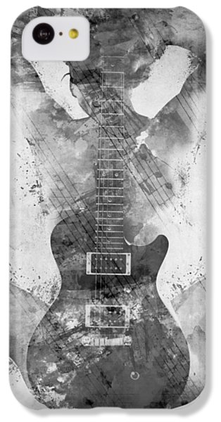 Guitar Siren In Black And White IPhone 5c Case