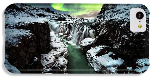 Flow iPhone 5c Case - Gullfoss by David Mart??n Cast??n