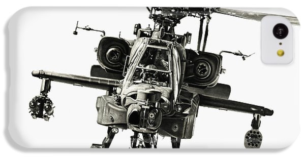 Helicopter iPhone 5c Case - Gunship by Murray Jones