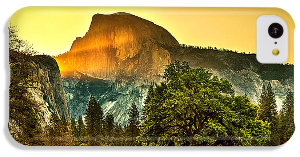 Half Dome Sunrise IPhone 5c Case by Az Jackson