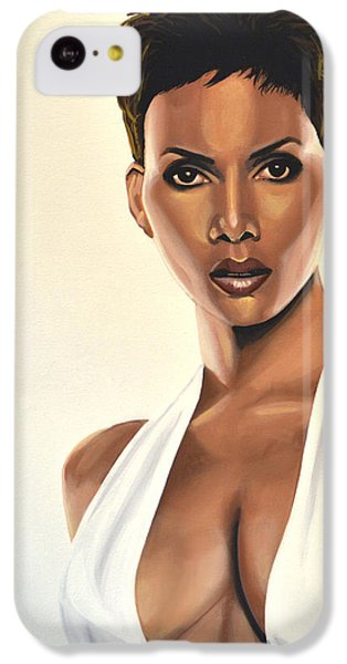 Halle Berry Painting IPhone 5c Case