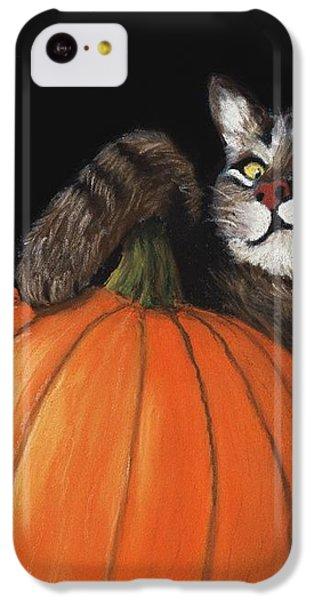 Halloween Cat IPhone 5c Case by Anastasiya Malakhova