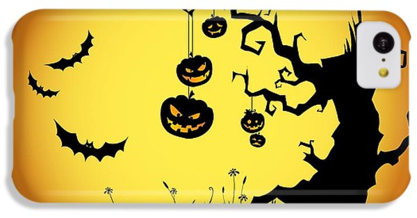 Halloween Haunted Tree IPhone 5c Case by Gianfranco Weiss