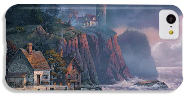 Harbor Light Hideaway IPhone 5c Case by Michael Humphries