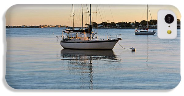 IPhone 5c Case featuring the photograph Harbor Sunrise by Anthony Baatz