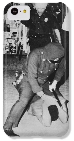 Harlem Race Riots IPhone 5c Case by Underwood Archives