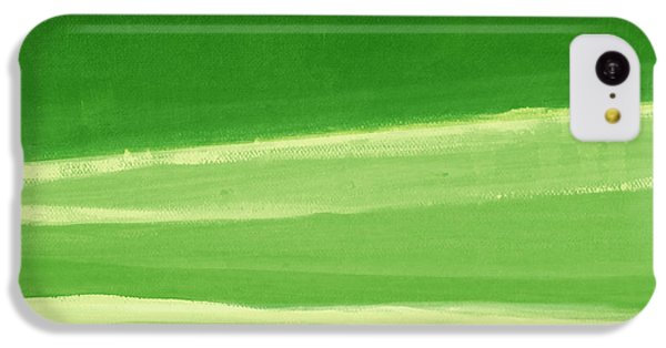 Harmony In Green IPhone 5c Case by Linda Woods