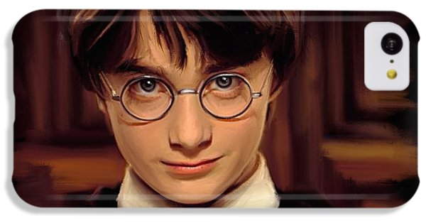 Wizard iPhone 5c Case - Harry Potter by Paul Tagliamonte