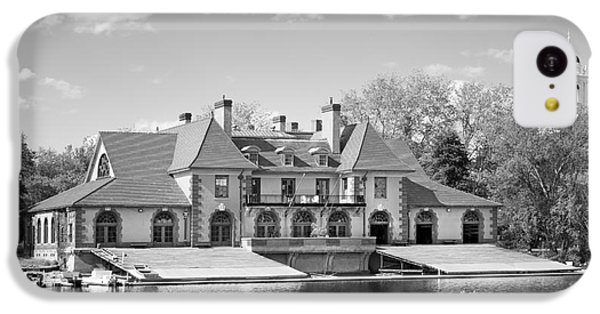 Weld Boat House At Harvard University IPhone 5c Case by University Icons
