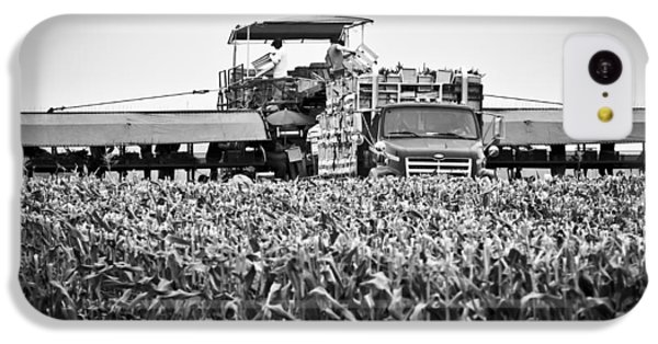 IPhone 5c Case featuring the photograph Harvesting Time by Ricky L Jones