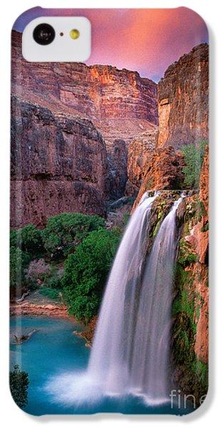 Grand Canyon iPhone 5c Case - Havasu Falls by Inge Johnsson