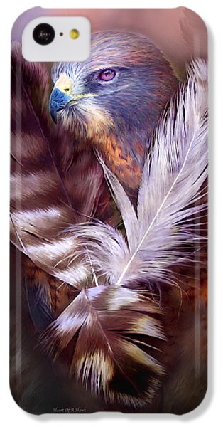 Heart Of A Hawk IPhone 5c Case