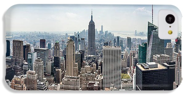 Empire State Building iPhone 5c Case - Heart Of An Empire by Az Jackson