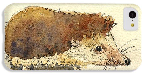 Mouse iPhone 5c Case - Hedgehog by Juan  Bosco