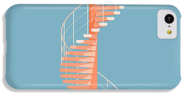 Helical Stairs IPhone 5c Case