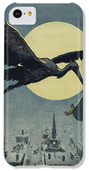 Here Comes The Stork Circa Circa 1913 IPhone 5c Case
