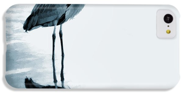 Heron In The Shallows IPhone 5c Case by Carol Leigh