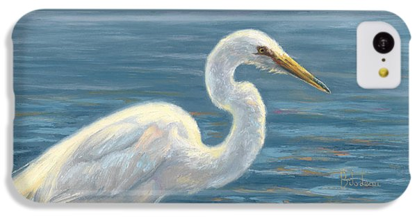 Heron Light IPhone 5c Case by Lucie Bilodeau