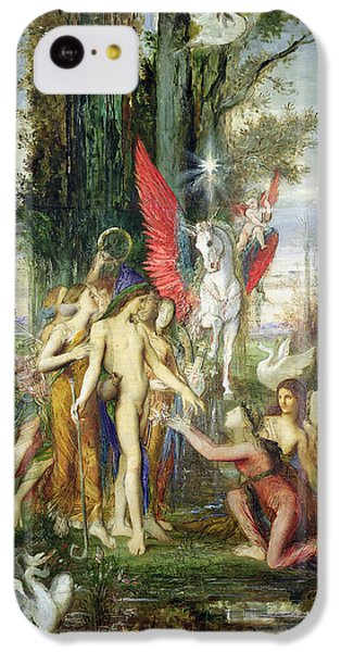 Hesiod And The Muses IPhone 5c Case by Gustave Moreau