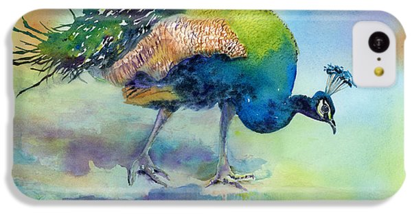 Peacock iPhone 5c Case - Hey Good Lookin by Amy Kirkpatrick