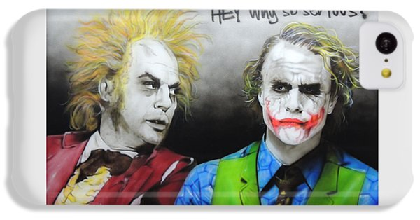 Hey, Why So Serious? IPhone 5c Case
