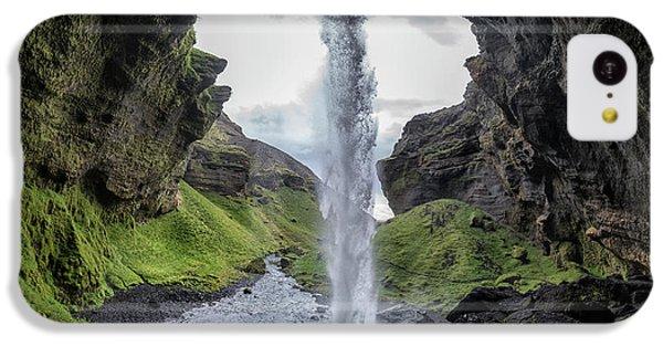 Flow iPhone 5c Case - Hidden Waterfall by Bragi Kort