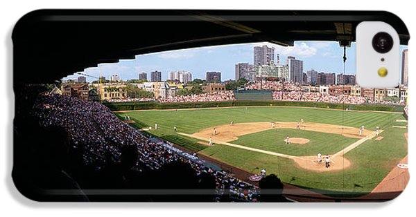 High Angle View Of A Baseball Stadium IPhone 5c Case by Panoramic Images