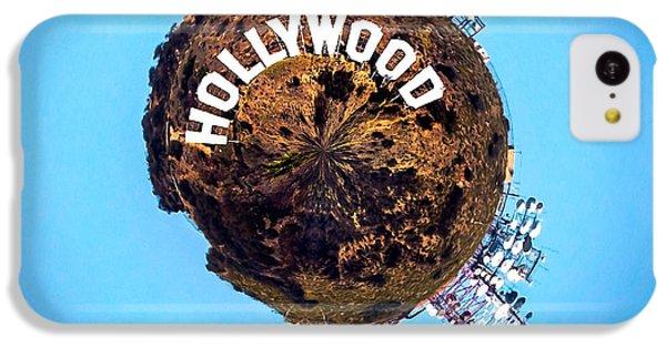 Hollywood Sign Circagraph IPhone 5c Case by Az Jackson