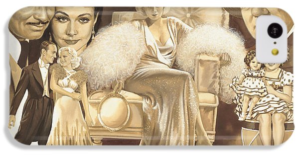 Shirley Temple iPhone 5c Case - Hollywoods Golden Era by Dick Bobnick
