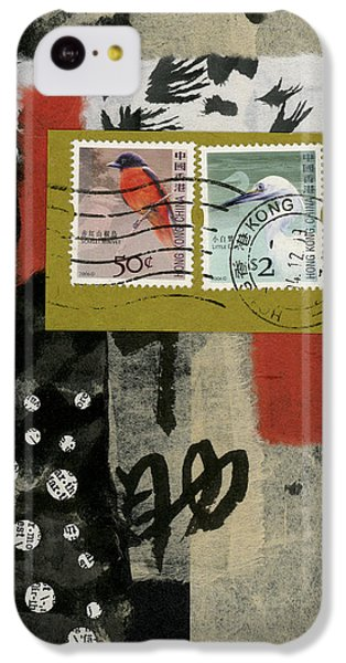 Hong Kong Postage Collage IPhone 5c Case