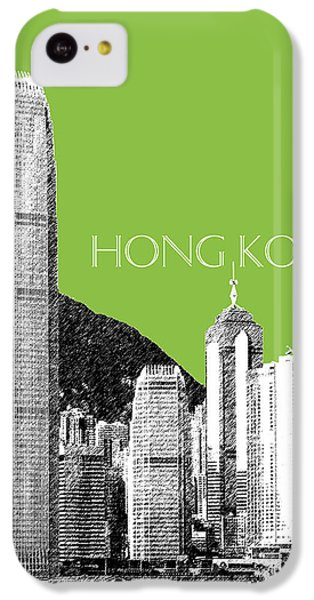 Hong Kong Skyline 1 - Olive IPhone 5c Case
