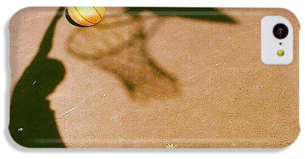 Sport iPhone 5c Case - Hoop Dreams by CML Brown