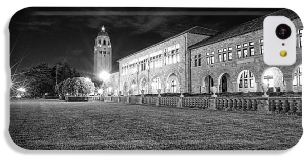 Hoover Tower Stanford University Monochrome IPhone 5c Case by Scott McGuire