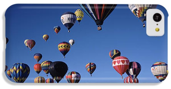 Hot Air Balloons Floating In Sky IPhone 5c Case by Panoramic Images