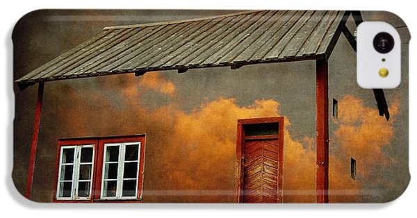 House In The Clouds IPhone 5c Case by Sonya Kanelstrand