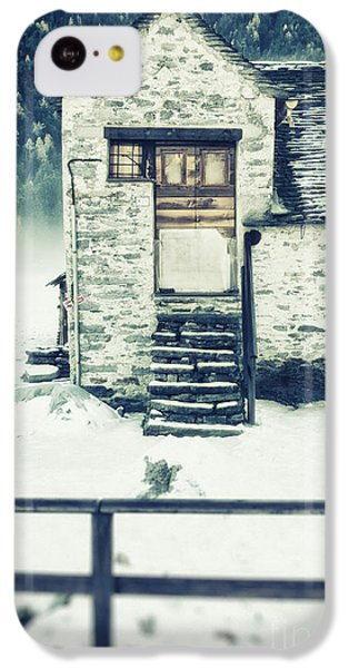 House Near The Wood IPhone 5c Case by Silvia Ganora