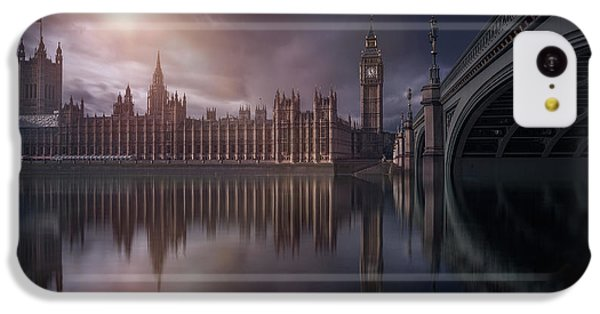 Big Ben iPhone 5c Case - House Of Parliament by Iv?n Ferrero