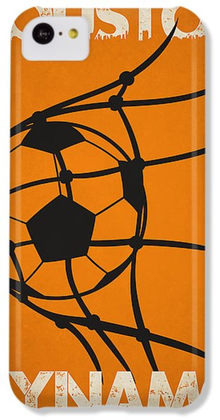 Soccer iPhone 5c Case - Houston Dynamo Goal by Joe Hamilton