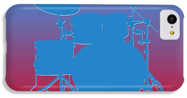 Houston Oilers Drum Set IPhone 5c Case by Joe Hamilton