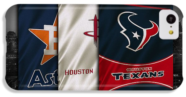 Houston Sports Teams IPhone 5c Case by Joe Hamilton