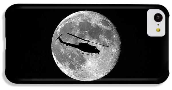 Helicopter iPhone 5c Case - Huey Moon by Al Powell Photography USA